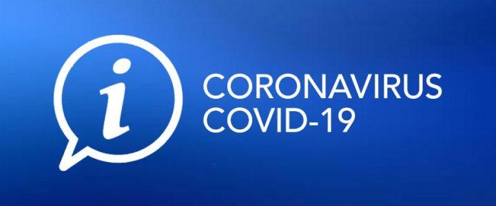 Info COVID 19 – 13/03/2020